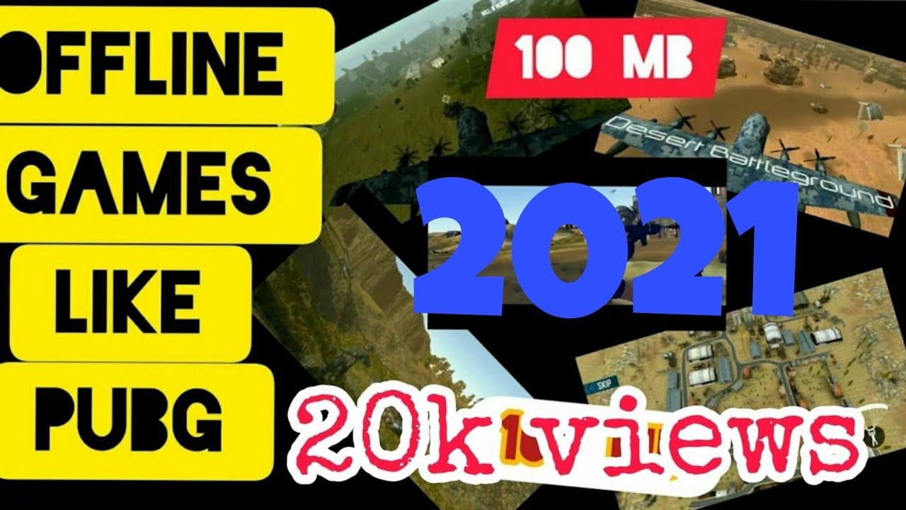 Top 5 Offline Game Like Pubg Under 100 Mb Youtube
