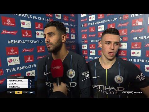 Mahrez: We are not thinking about winning quadruple | Newport vs Man City
