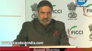 Anand Sharma inaugurates Technotex 2013