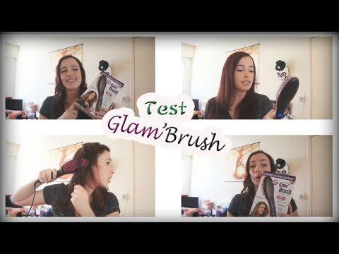 test brosse lissante glam 39 brush mon avis youtube. Black Bedroom Furniture Sets. Home Design Ideas