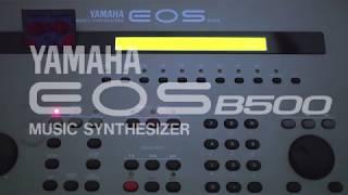【YAMAHA EOS B500】 TK1 RHYTHM RED - demo演奏【TMN】