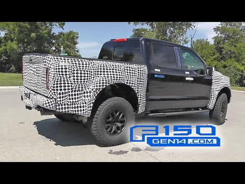 New 2022 Ford Raptor F-150 First Video! V8 Engine Sound Heard?!