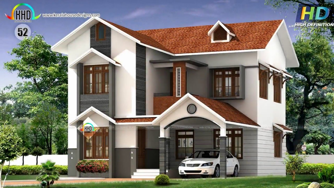Top 90 house plans of march 2016 youtube for Kerala house designs and floor plans 2016