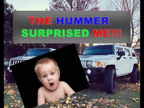 THE HUMMER BROKE DOWN – How to replace battery on Hummer H3