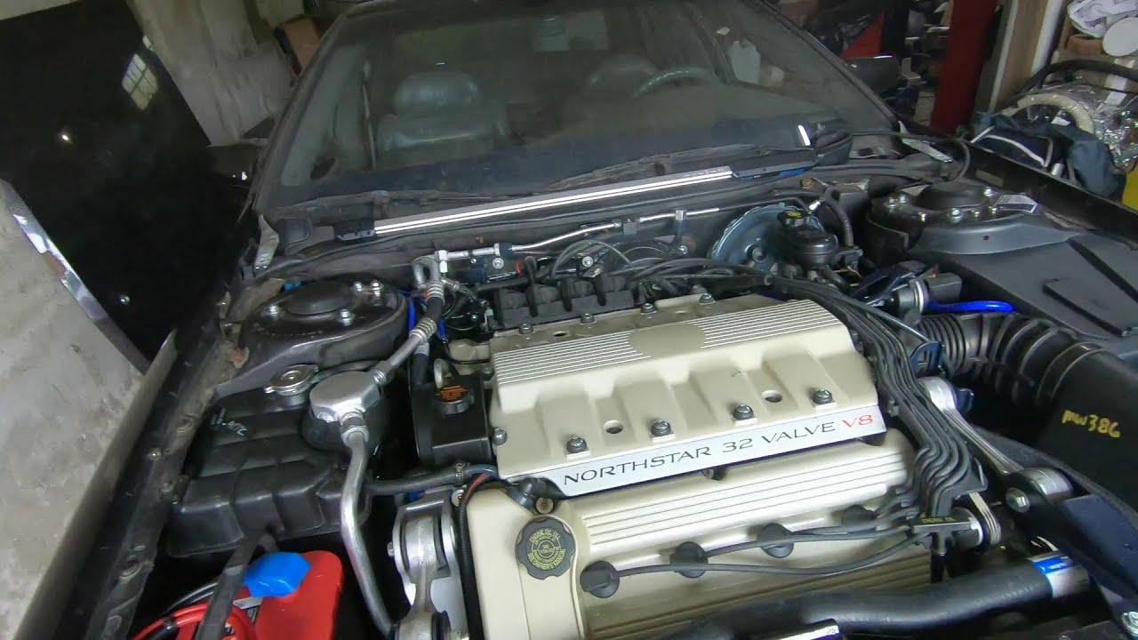 Restauration complète V8 Cadillac 4.6l Northstar 1993 - Partie 15 - Installation moteur et démarrage