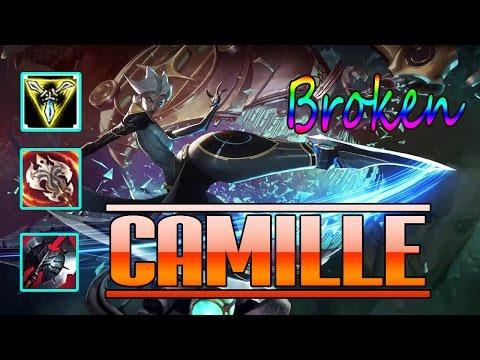Camille TOP | KDA: 13-1-7 | Pls Neft Her | Super Broken | Build And Play | League of Legend