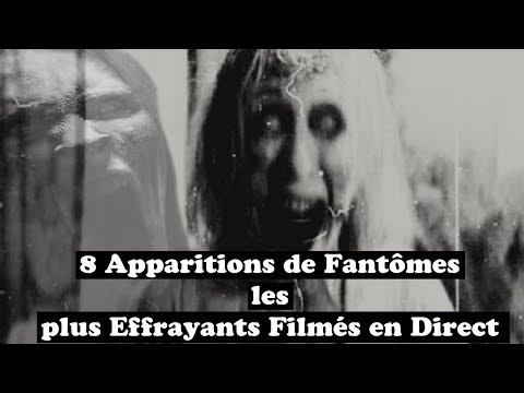 8 APPARITIONS de FANTÔMES les plus EFFRAYANTS Filmés en DIRECT