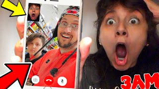 DO NOT FACETIME FGTEEV AT 3AM!! (THEY ANSWERED!) Funnel Vision