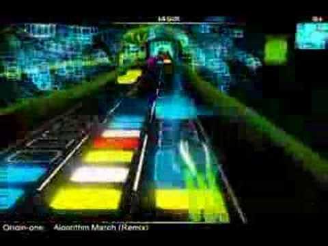 Algorithm Surf (Audiosurf Algorithm March)