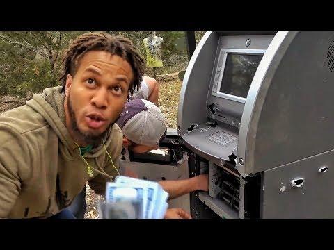 Расстрел и вскрытие обычного банкомата | Разрушительное ранчо | Перевод Zёбры