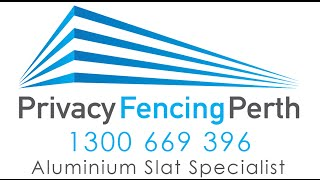 Privacy Fencing Perth Wa