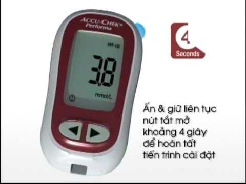 Accu-Chek - Hướng đẫn sử dụng máy đo đường huyết Accu-Chek Performa