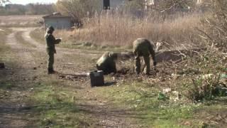 Последствия обстрелов пророссийскими боевиками Попасной 26102016 ч.2