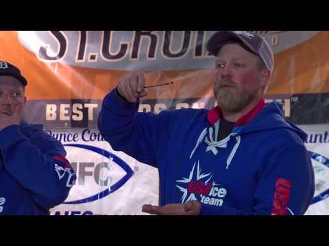 2016 NAIFC Ice Fishing Tournament, Alma, Wisconsin