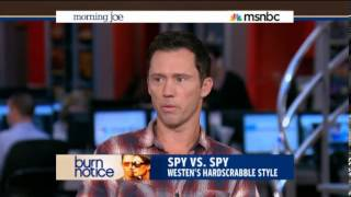 Jeffrey Donovan - Morning Joe - Burn Notice ends series run