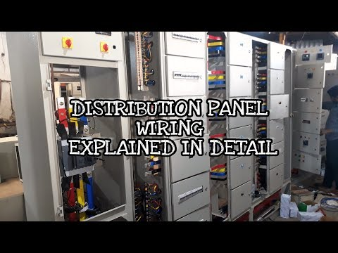 Switchgear Main LT Distribution Panel Making and Wiring step by step | Electrical panels