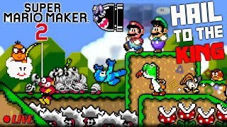 We Play YOUR Mario Maker 2 Levels LIVE #1