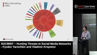 #HITBCyberWeek D1T2 - Hunting Threats In Social Media Networks - F. Yarochkin and V. Kropotov