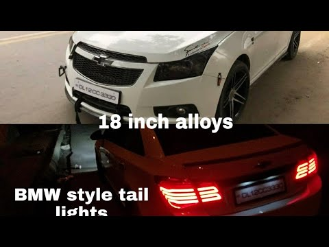 Chevrolet Cruze Fully Modified   18 Inch Alloy Wheels   BMW Style Tail Lamps   The Vehicle Hub