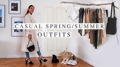 CASUAL SPRING OUTFITS   spring summer fashion lookbook 2020   Pelicanbay