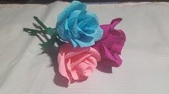 Koleksi Cara Membuat Bunga Dari Kertas Sumbo Tutorial Kreasi Dari Kardus Susu Kotak
