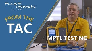 Testing a Modular Plug Terminated Link (MPTL) by Fluke Networks