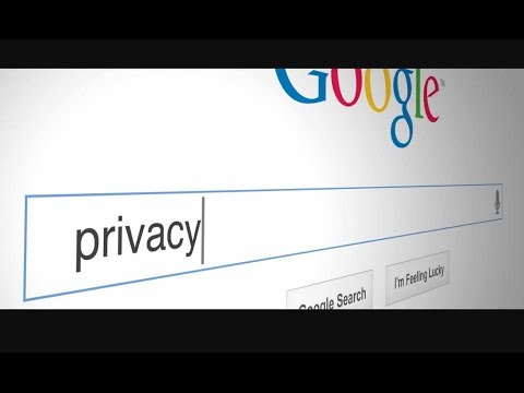 How to see/change google's privacy settings