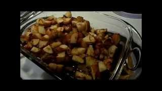 Roasted Ranch And Onion Potatoes