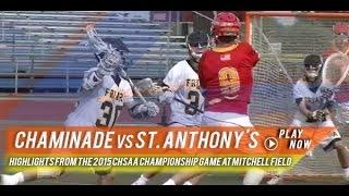 Chaminade (NY) vs St. Anthony