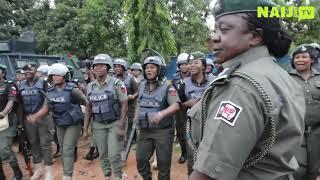 Ekiti 2018: Heavily Armed Female Police Officers Show Readiness for Ekiti Election | Naij.com TV