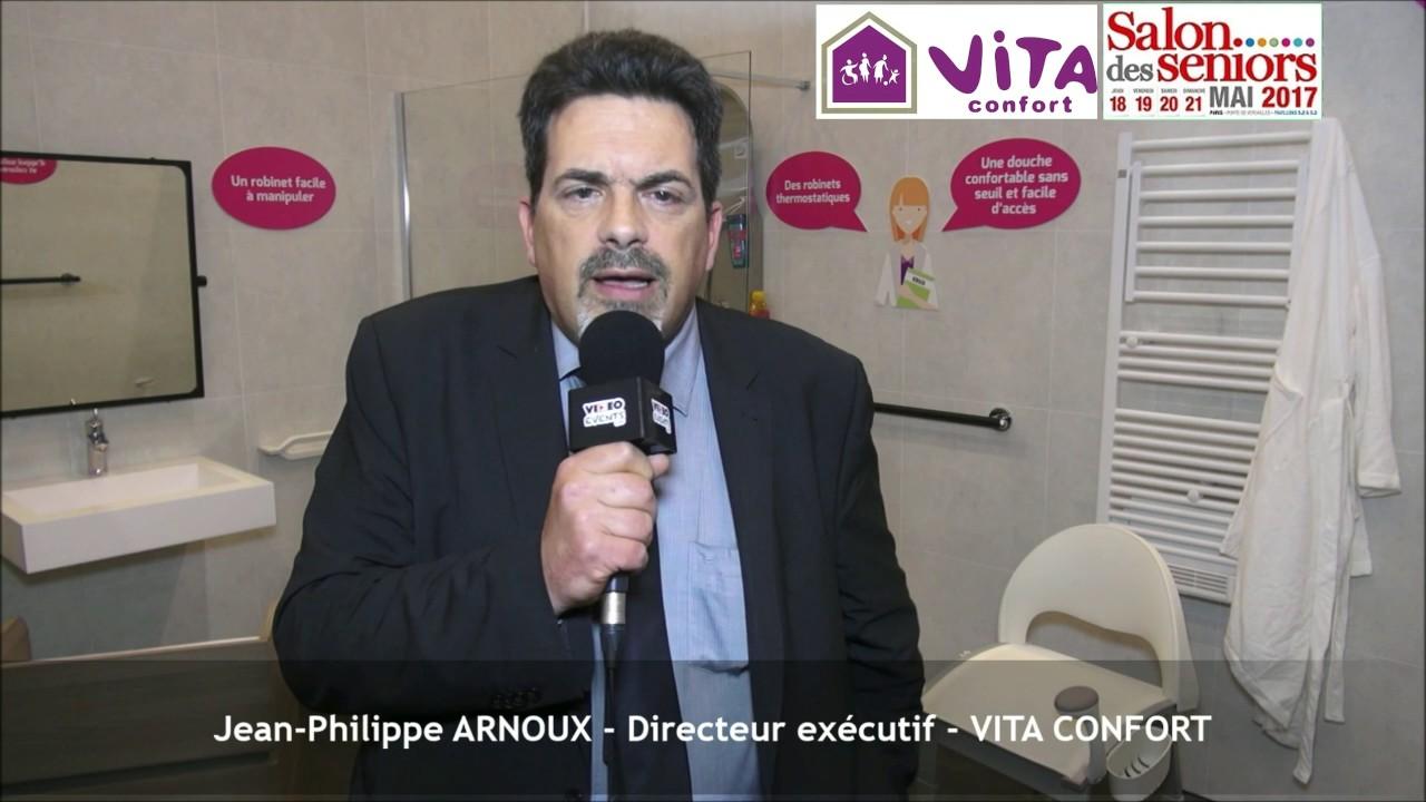 Vita Confort 25 Rue Lecourbe vita confort au salon des seniors 2017 - interview de jean-philippe arnoux