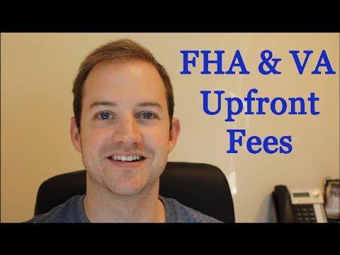 FHA & VA Upfront Fees