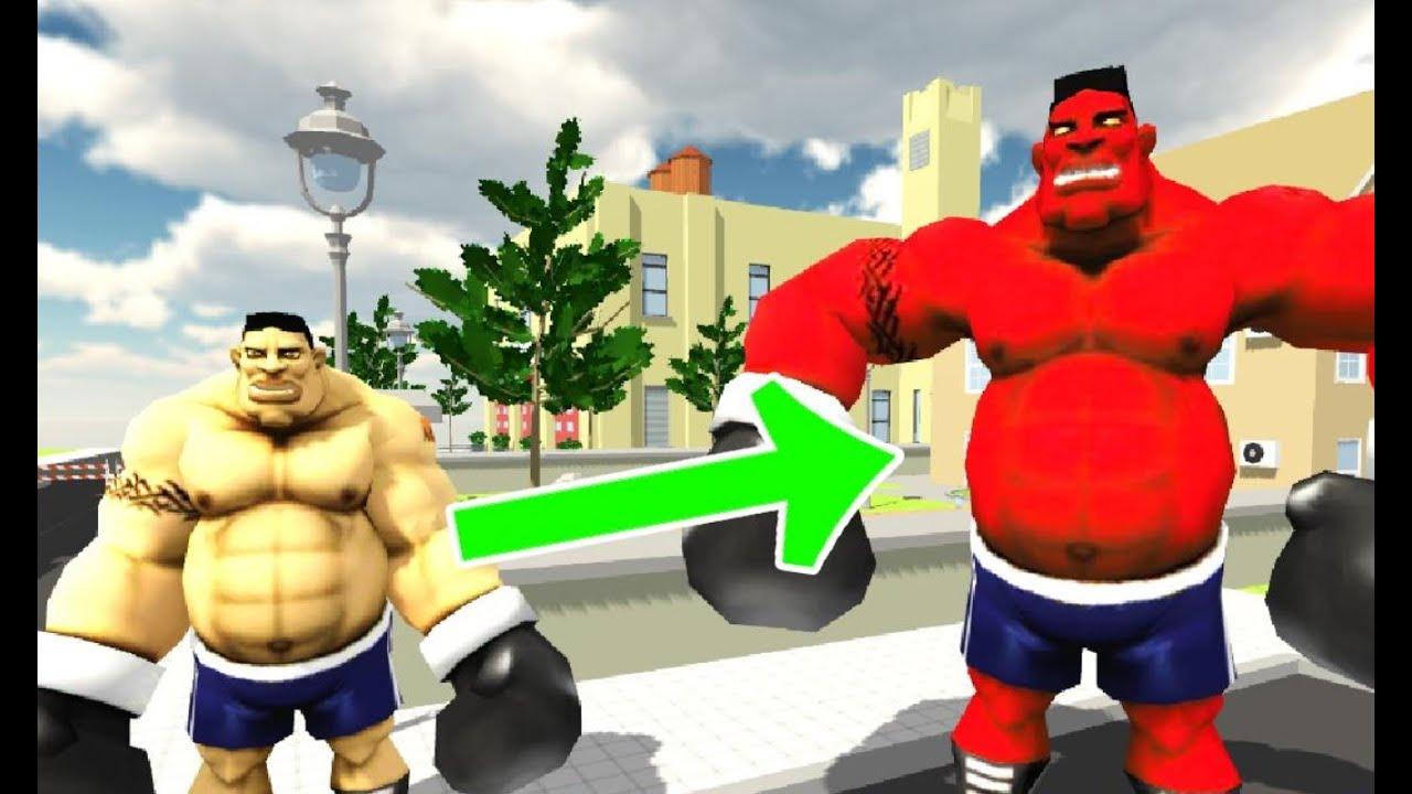 Monster Superhero vs Police