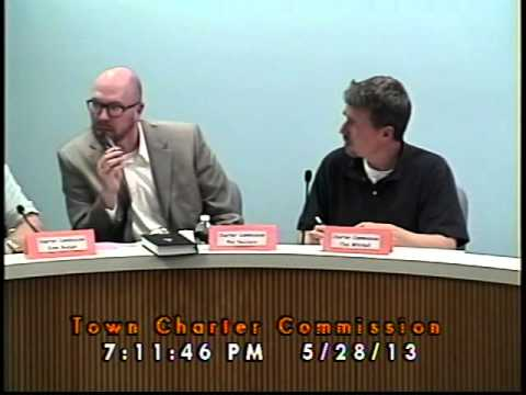 Town Charter Commission 05/28/2013 (Newmarket, New Hampshire)