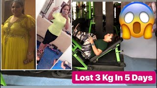 Lost 3 Kgs In 5 Days || Legs Workout || VLOG || Fitnes And Lifestyle Channel