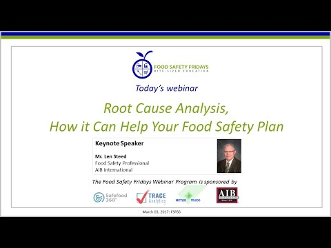 Root Cause Analysis – How it Can Help Your Food Safety Plan