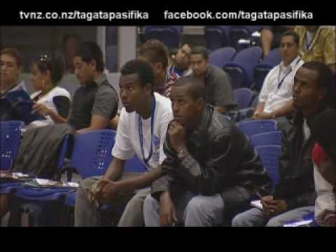 First ever Pacific Youth and Sports Conference Tagata Pasifika TVNZ 18 Mar 2010