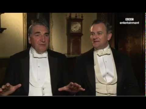 Jim Carter and Hugh Bonneville Downton Abbey