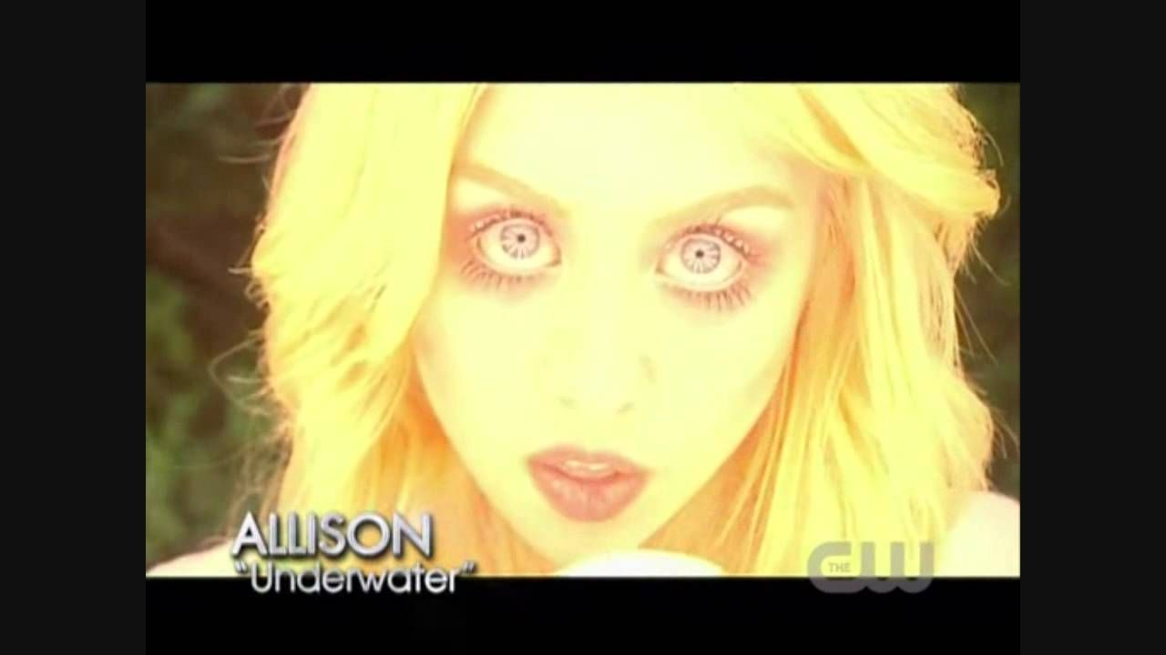 Allison Antm antm music video allison harvard underwater without tyra!