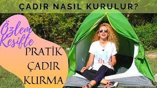 ÇADIR NASIL KURULUR? | Arpenaz 2 Pratik Kamp Çadırı Kurma Taktikleri