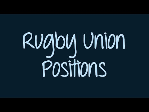 Rugby Union Positions | YouLearn Beginner Introduction