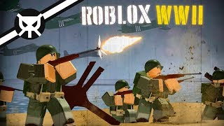 AMAZING NEW WWII GAME ON ROBLOX?! ▼ Roblox WWII ▼ Alpha
