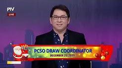PCSO 9:00 PM Lotto Draw - December 29, 2019
