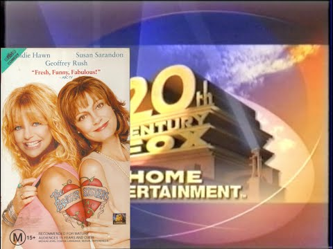 Opening & Closing to The Banger Sisters 2003 VHS (Australia)