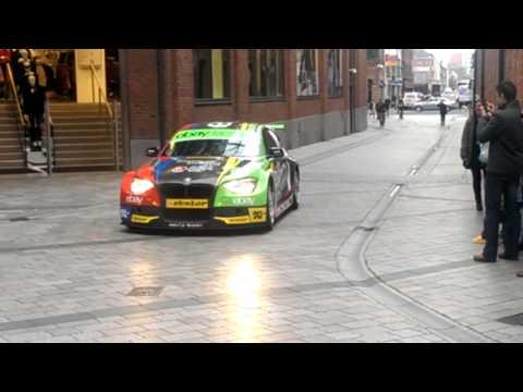 Ebay Motors Colin Turkington returns to Belfast.