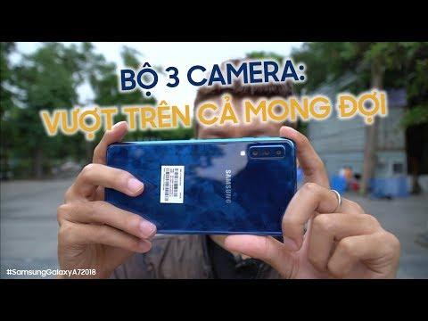 Đánh giá bộ 3 camera Galaxy A7 2018: Samsung đang quay trở lại vị thế?