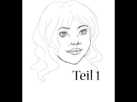 Zeichenkurs: Gesicht zeichnen (Teil1)