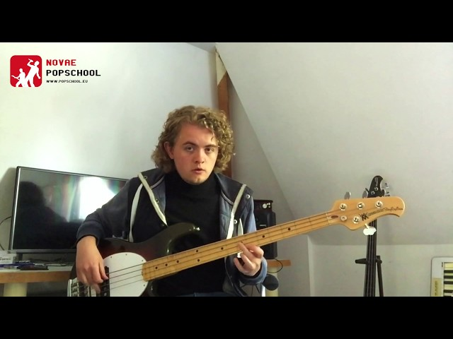 Novae Popschool bass-tips | Bass Minute #5 - John Mayer Trio Good Love Is On The Way