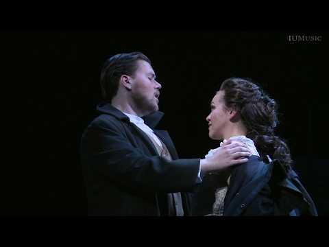 Rose-Antoinette Bellino and Joseph McBrayer sing Lucia Act I Duet