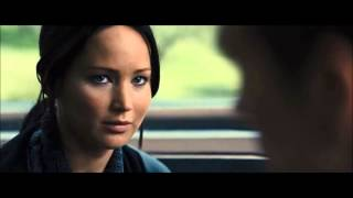 Thg ◄ Catching Fire   Katniss   Peeta On The Train ► Hd
